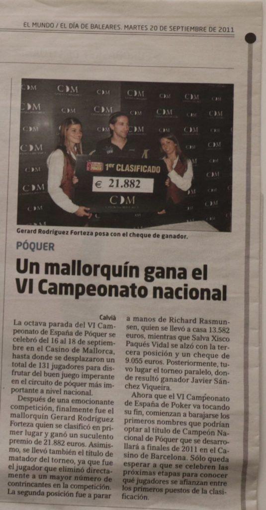 Gerardx campeonato de España